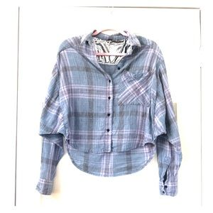 Free People linen button down size S